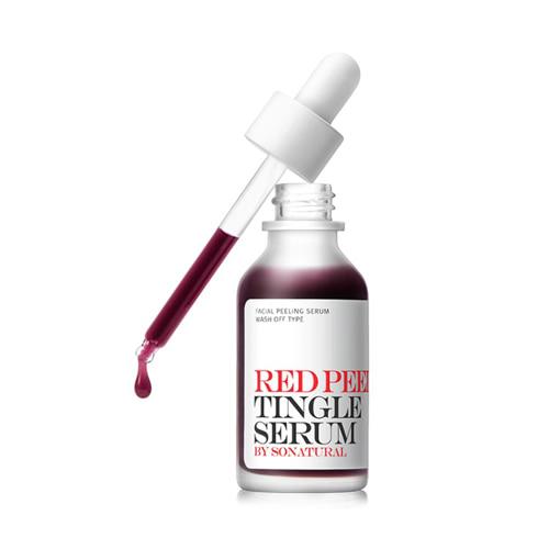 so natural Red Peel Tingle Serum 35ml