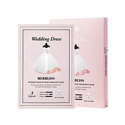 MERBLISS Wedding Dress Nude Seal Mask 5pcs