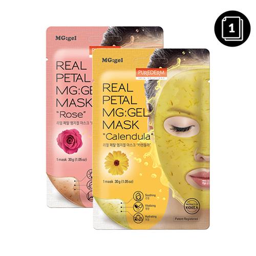 PUREDERM Real Petal Mg:Gel Mask 1ea