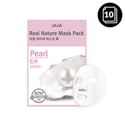 RiRe Real Nature Mask Pack Pearl 10ea