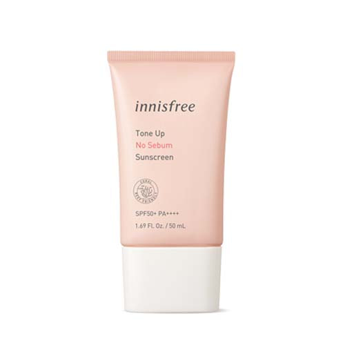 [TIME DEAL] innisfree Tone Up No Sebum Sunscreen SPF50+ PA++++ 50ml