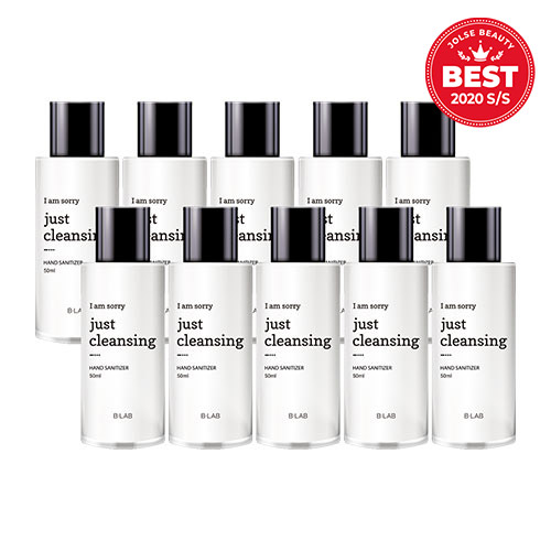 B_LAB I Am Sorry Just Cleansing Hand Sanitizer 50ml * 10ea