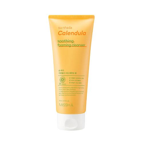 MISSHA Su:nhada Calendula pH 5.5 Soothing Foaming Cleanser 200ml