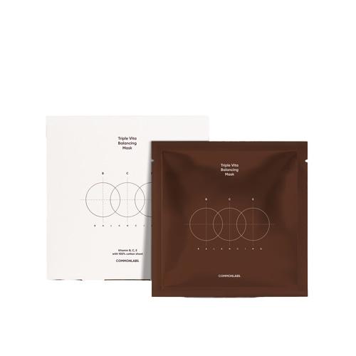 COMMONLABS Triple Vita Balancing Mask 30ml*10 Sheets
