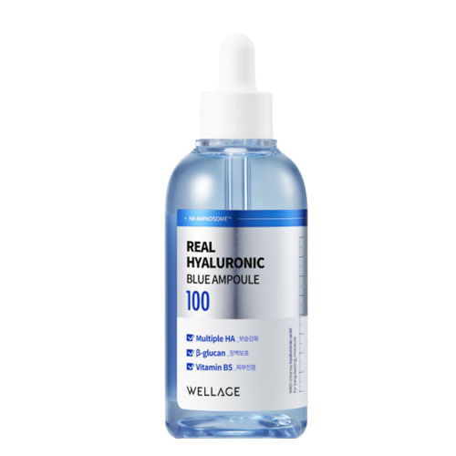 Wellage Real Hyaluronic Blue Ampoule 100ml