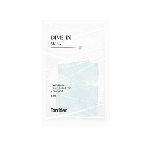 Torriden DIVE-IN Lowmolecule Hyaluronicacid Mask Pack 1ea