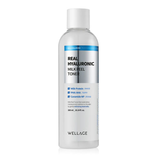 Wellage Real Hyaluronic Milkpeel Toner 300ml
