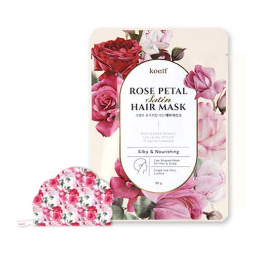 koelf Rose Petal Satin Hair Mask 1ea