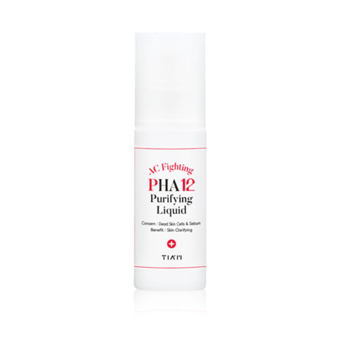 TIAM AC Fighting PHA 12 Purifying Liquid 80ml