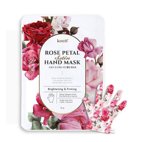 koelf Rose Petal Satin Hand Mask 1ea