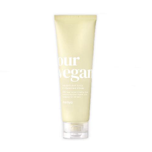 MANYO FACTORY Our Vegan Heartleaf Cica Cleansing Foam 120ml