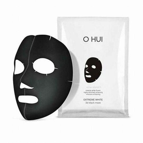 O HUI Extreme White 3d Black Mask 27g*1ea