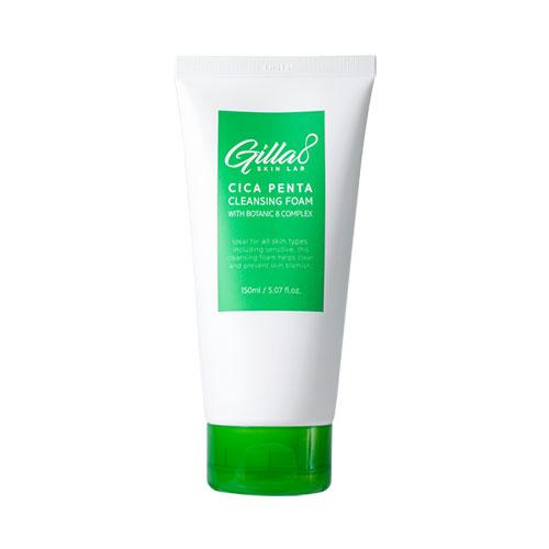 Gilla8 Cica Penta Cleansing Foam 150ml (Renewal)