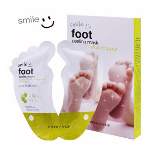 The FACE Shop Smile Foot Peeling Mask 20ml 2ea