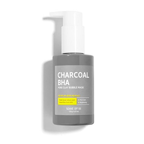 SOME BY MI Charcoal BHA Pore Clay Bubble Mask 50ml