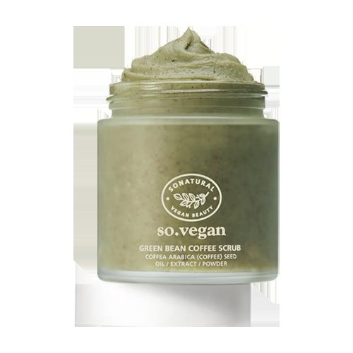 so natural SO Vegan Green Bean Coffee Scrub 105ml