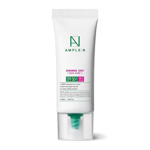 AMPLE:N Ceramide Shot Barrier Sun Care SPF50+ PA++++ 40ml
