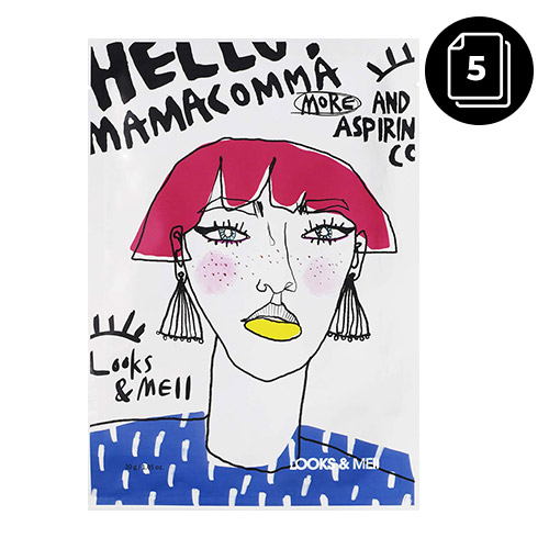 LOOKS&MEII Brightening Lift Up Perfect Fit Mask 5ea