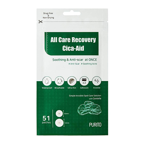 PURITO All Care Recovery Cica-Aid 51 patches