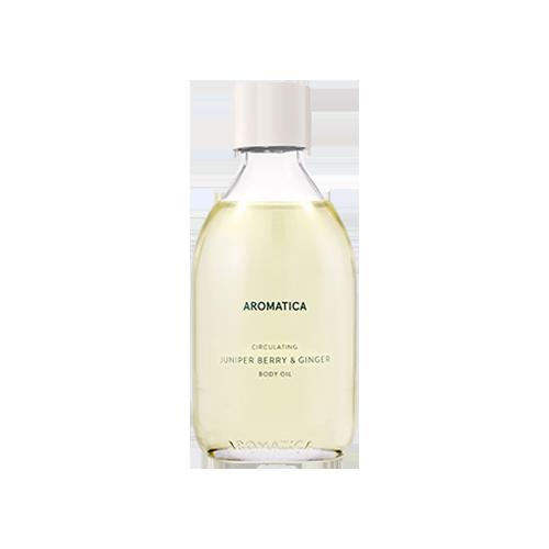 Aromatica Circulating Body Oil_Juniper Berry & Ginger 100ml