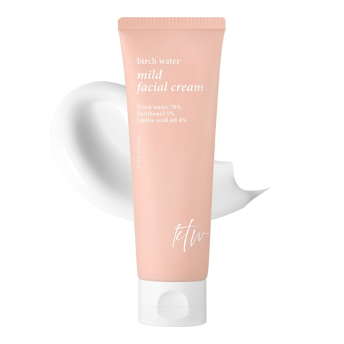 KTW Birch Water Mild Facial Cream 120ml