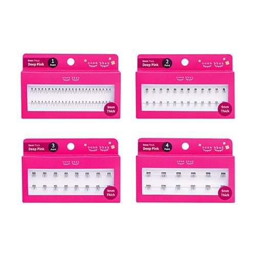 Boutique:loom ccam bbak Eyelash 9mm Deep(thick) Pink