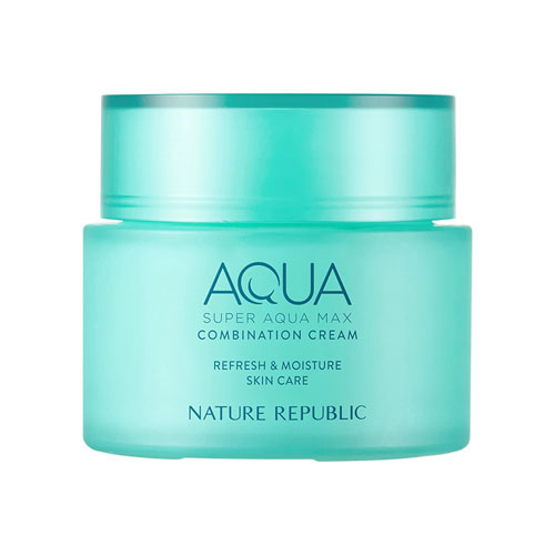 NATURE REPUBLIC Super Aqua Max Combination Watery Cream 120ml (2021 Renewal)