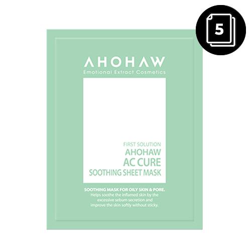 AHOHAW AC Cure Soothing Sheet Mask 30g 5ea