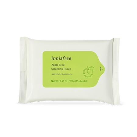 innisfree Apple Seed Cleansing Tissue 15ea