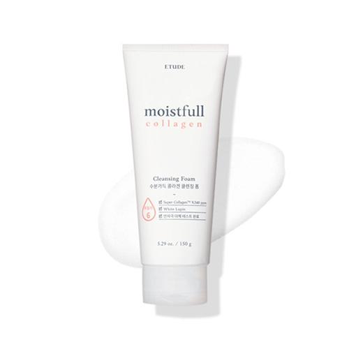 ETUDE HOUSE Moistfull Collagen Cleansing Foam 150ml (2021 Renewal)