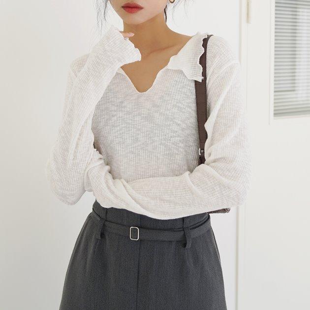 오프닝 카라 티셔츠 TS7387