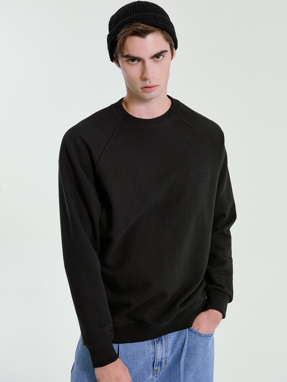 [시즌오프 35%] J.D MCCALL Sweatshirts_Black