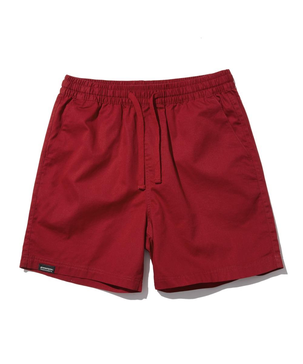 BASIC HALF PANTS (RED) [LRPMCPH701MRDA]