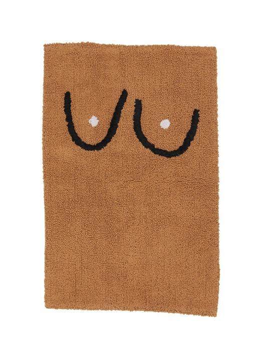 Boob Bathmat - Brown