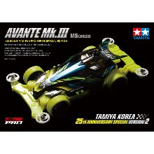 7월말예약 92428 Avante MK3 TKC 25th Anniv. Special Ver.2 tamiya 타미야미니카