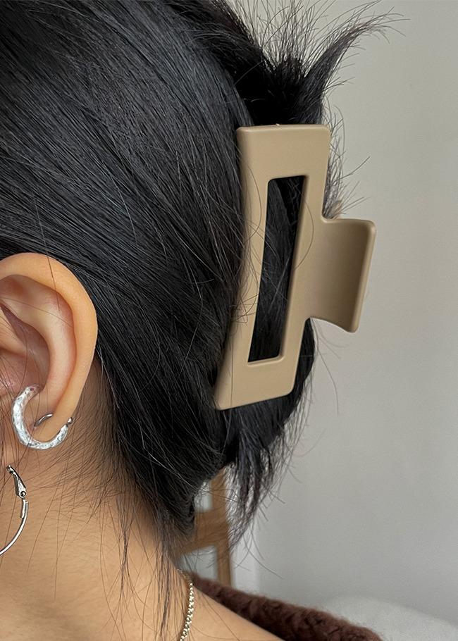 Rectangular Hair Claw Pin