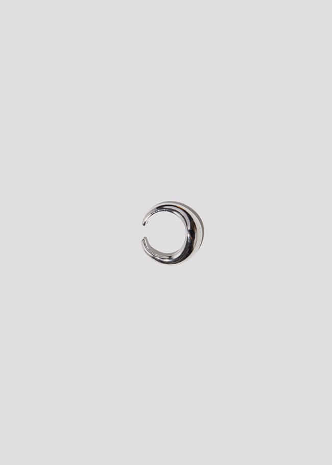 DARKVICTORY柔和弧面金屬耳骨夾