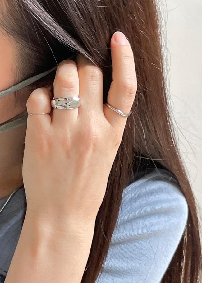 3-Piece Layered Ring Set