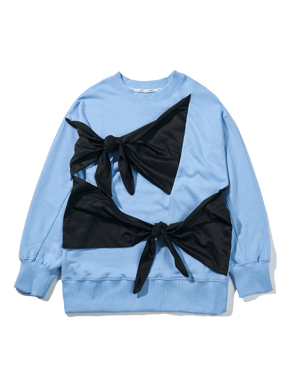 [FW20] TWO RIBBON-DETAIL SWEATSHIRT (KYTZ7RLR10W)