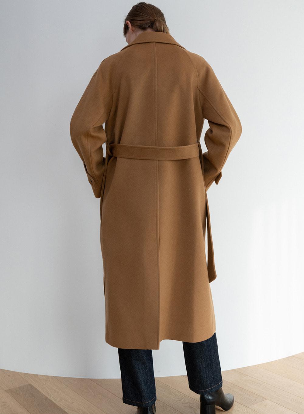 [ESSENTIAL] 캐시미어 Salome Coat Camel