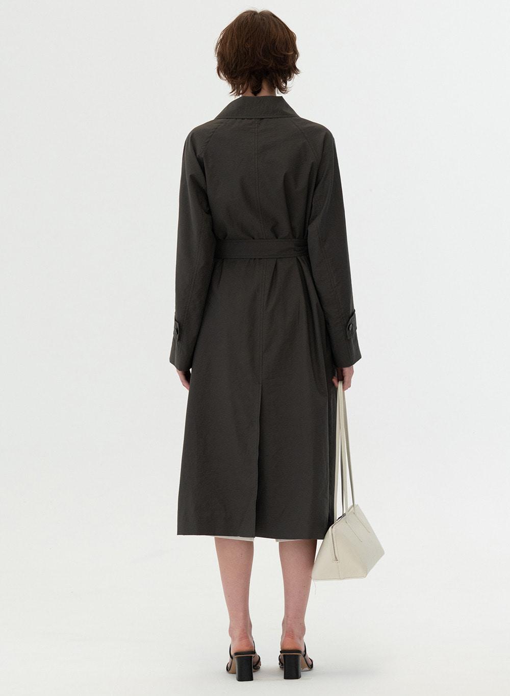 [ESSENTIAL] Lightweight Single Coat Deep-Khaki