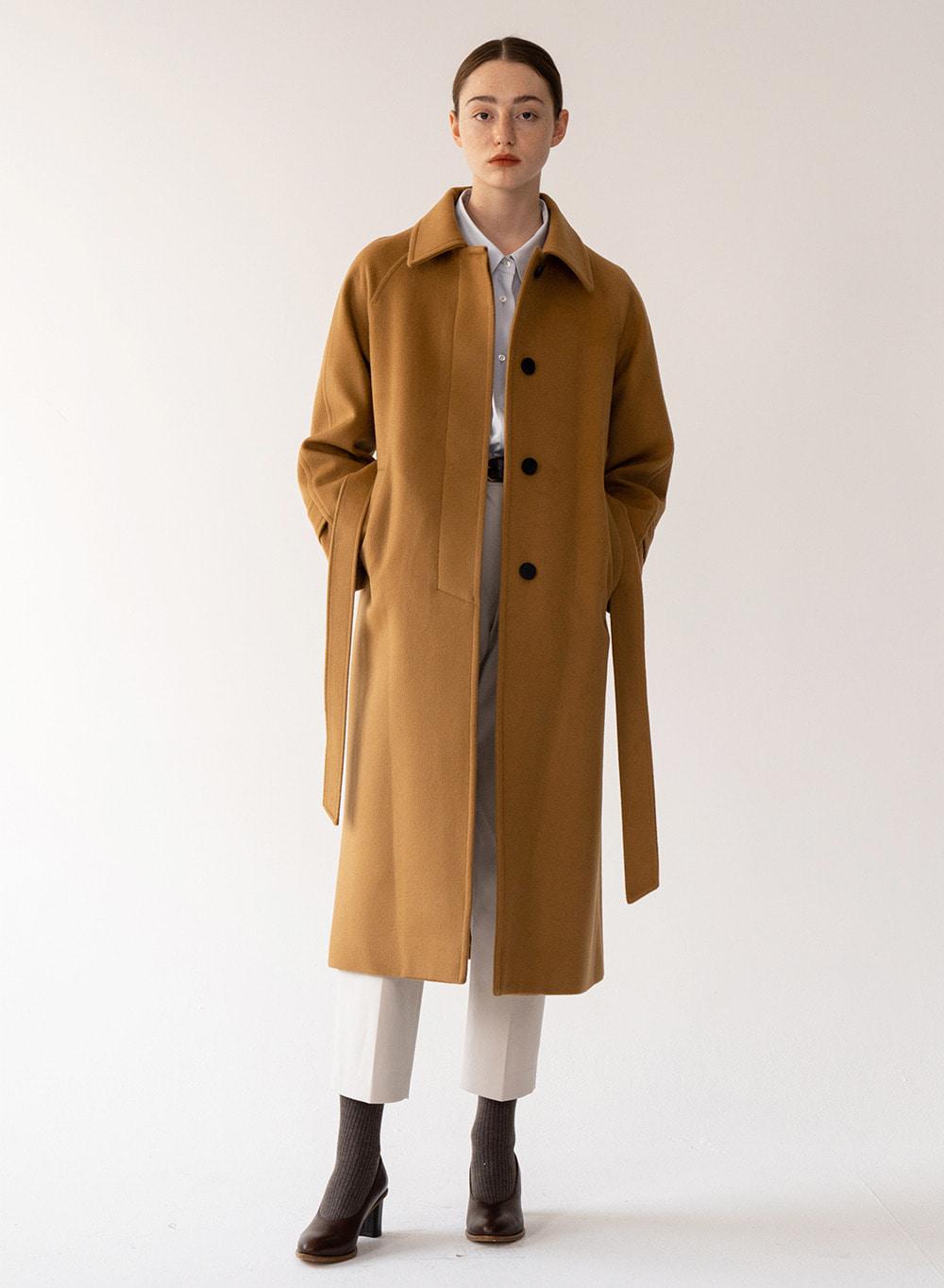 [FW20 ESSENTIAL] 캐시미어 Cashmere Single Coat Camel
