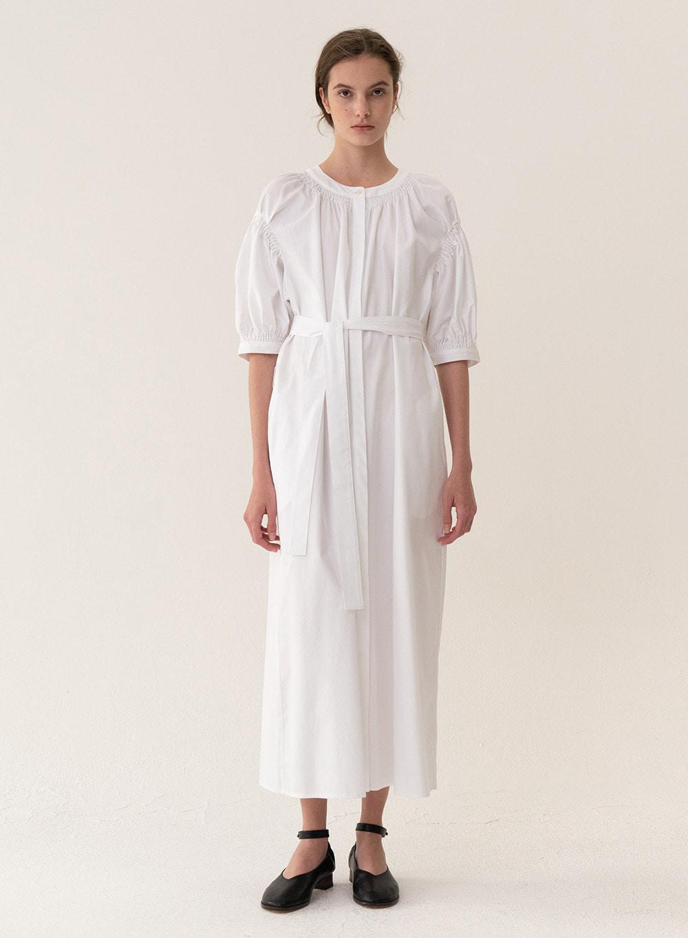 [ESSENTIAL] Original Balloon Dress White