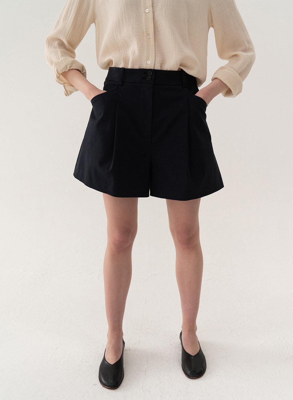 [ESSENTIAL] Tuck Shorts Navy