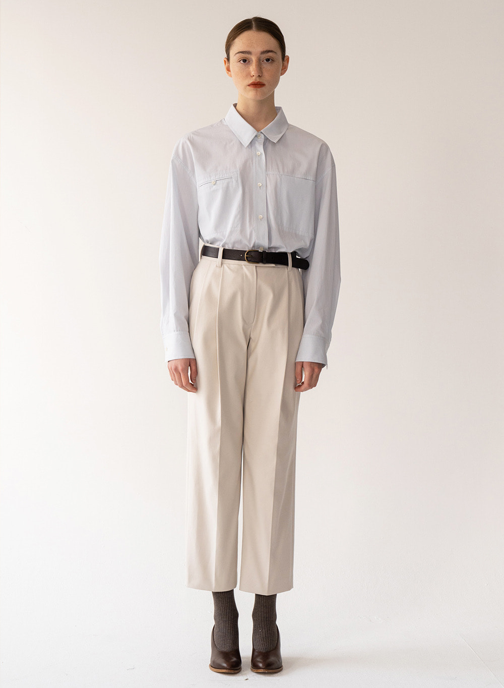 [FW20 ESSENTIAL] Classic Pants Ivory