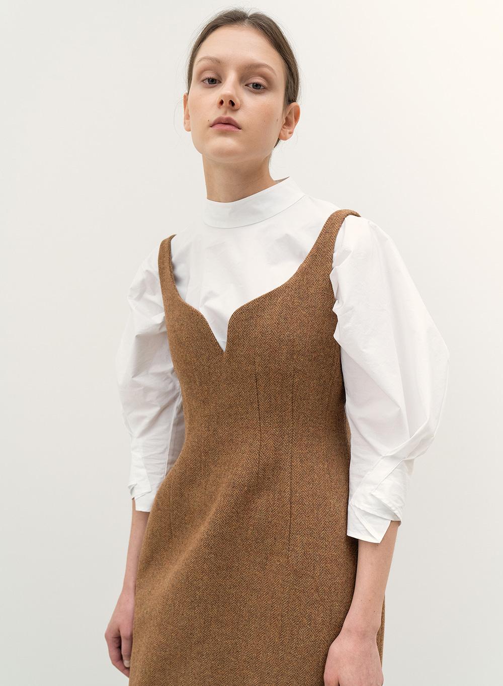 FW20 Voluminous Camisole Dress Autumn