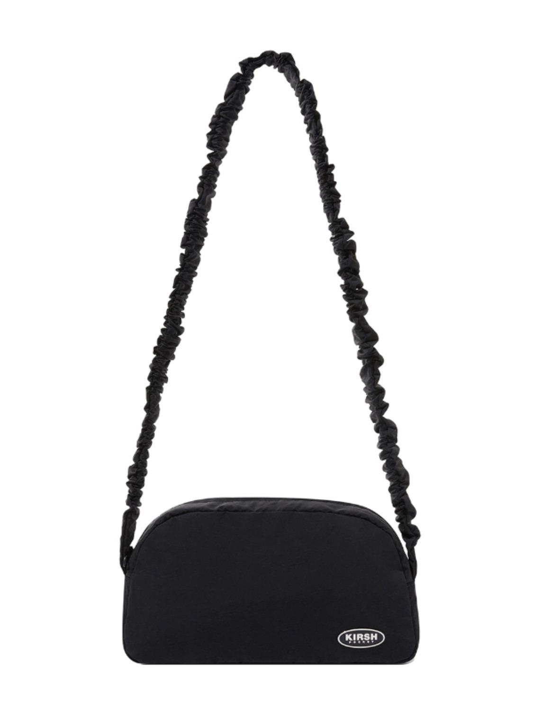 SHIRRING CROSS BAG KH [BLACK]
