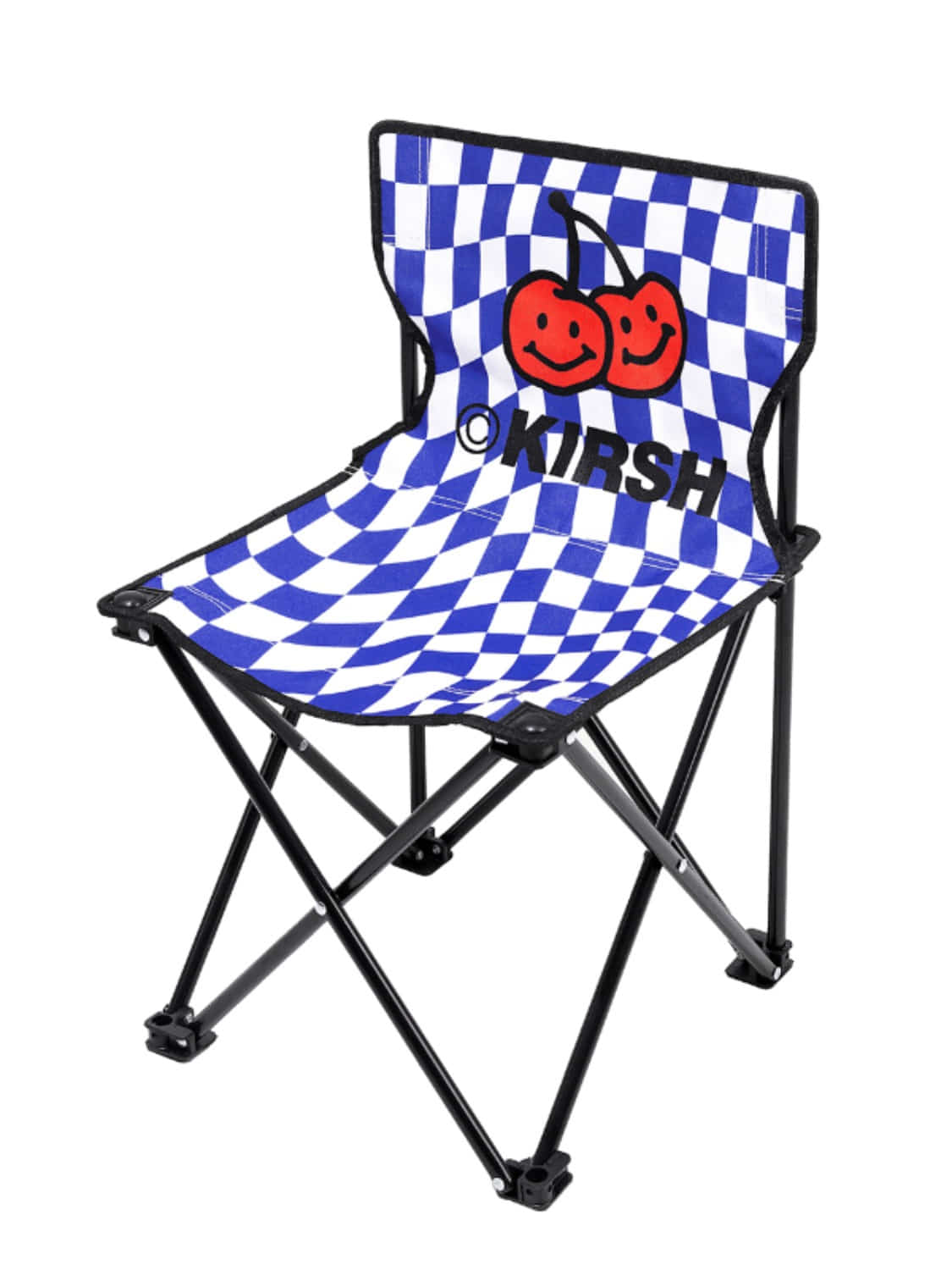DOODLE CHERRY CAMPING CHAIR KH [BLUE]