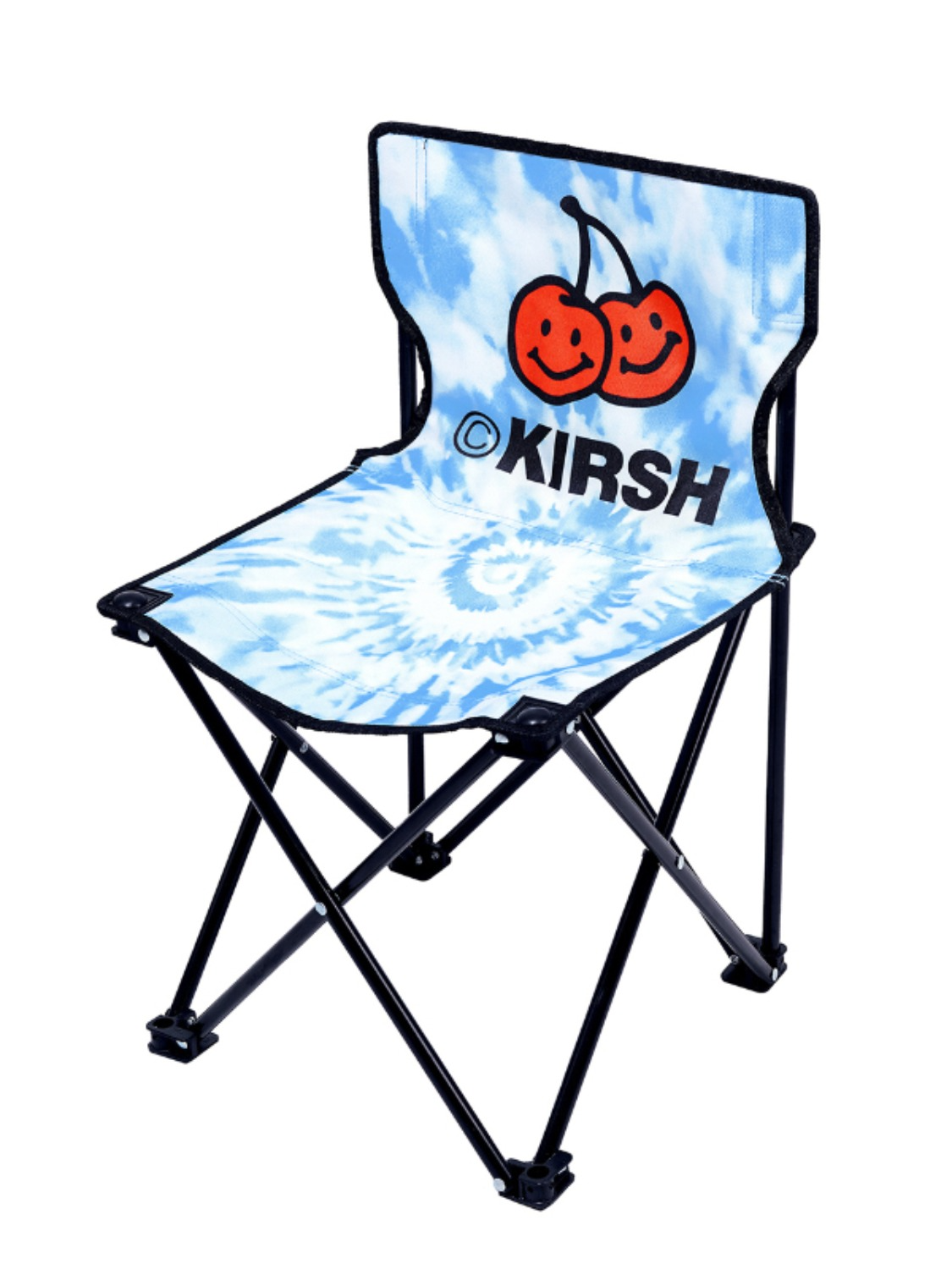 DOODLE CHERRY CAMPING CHAIR KH [LIGHT BLUE]
