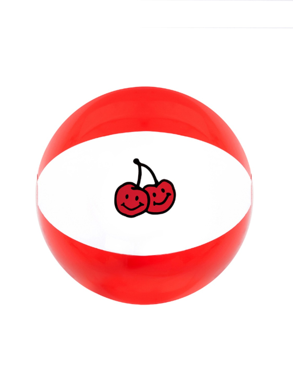 DOODLE CHERRY BEACH BALL KH [RED]
